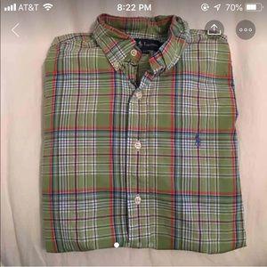 Men's Ralph Lauren shirt sm